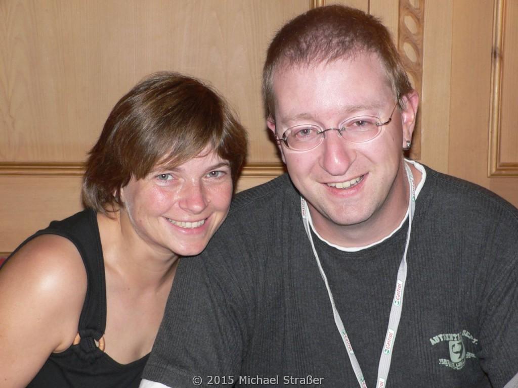 2005 - Oberpfälzer Seenland - da waren wir zwei noch jung ;)