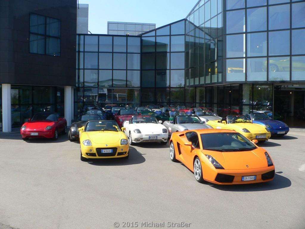 2005 - Arte Italiana - Besuch bei Lamborghini und Geburtsstunde der Diva in Pearl Orange