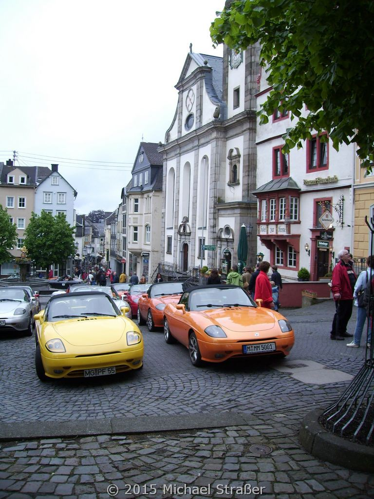 2006 - barchetta in the heart of Europe